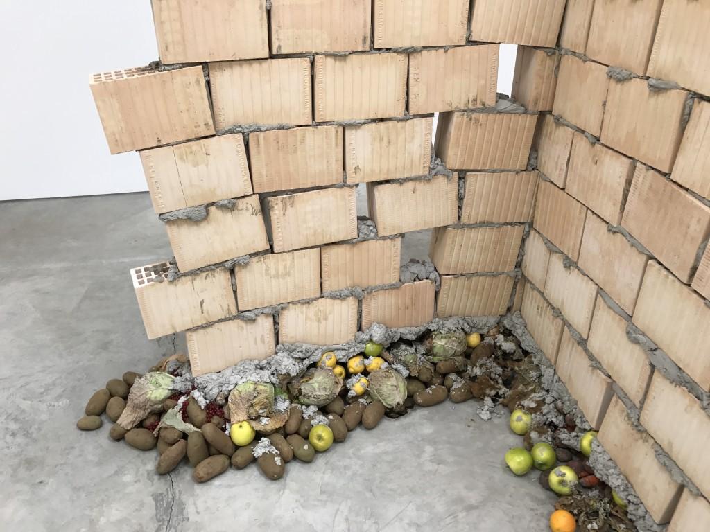 "Urs Fischer, ""Faules Fundament (Rotten Foundation)"""